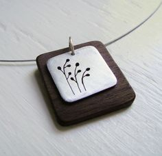 Pussywillow Square Neckwire by janeeroberti on Etsy