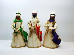 Corn Husk Dolls Nativity Set 11 pieces 6 by SomethingAndMoreLLC
