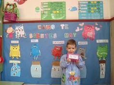 Com et sents avui? Character Education, Kids Education, Emotions Preschool, All About Me Crafts, Social Emotional Activities, Building Classroom Community, Spanish Colors, Preschool Decor, Responsive Classroom