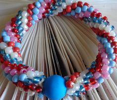 #babybluenoclaspbracelet #herringbonebracelet #neonbleu #ladiesbracelet #girlsbracelet #womenbracelet #fashionjewelry #crochetbracelet #lanesamarie #seedbeadsbracelet #giftforher #assortedcolorsbracelet #colorfulbracelet #happycolorbracelet