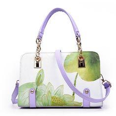 Women Classic chains tote bags print bag for lady's bolsas