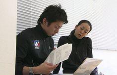 ウイダー TOP ATHLETE SUPPORT PROJECT【浅田真央:プロジェクトスタッフ紹介】森永製菓