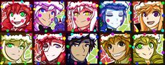 FNAF SL Christmas Icons by Wolf-con-f.deviantart.com on @DeviantArt