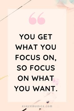 quotes short Quotes About Focus And Goals You get what you focus on so focus on what you want. Focus Quotes, Positive Quotes For Women, Motivational Quotes For Success, Wisdom Quotes, Life Quotes, Inspirational Quotes, Quotes Motivation, Quotes About Focus, Mood Quotes