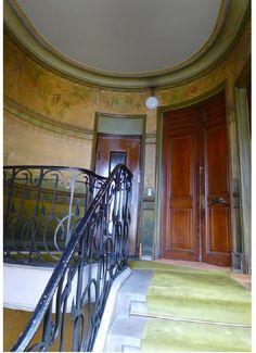 apartment interior Jules Lavirotte Paris art nouveau; offered at E3.25m http://www.architecturedecollection.fr/brochure/0000184.pdf