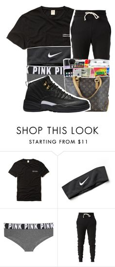 """""""Untitled #497"""" by iam-armani ❤ liked on Polyvore featuring Hollister Co., NIKE, Victoria's Secret PINK and John Elliott"""
