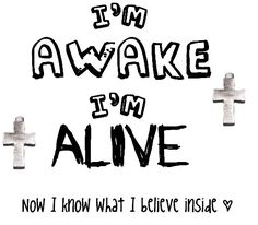 """""""Awake and Alive"""" by Skillet"""