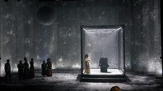 DIBBUK at Gesher theatre, Tel Aviv. Dir. Yevgeny Arye (stage - Simon Pastukh)