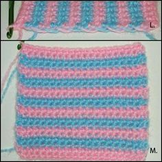 @Denise Golonka good info for the future, I knew how to do this once but forgot! How to carry yarn up the sides when crocheting stripes.