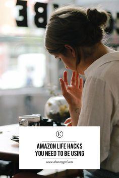 Amazon Life Hacks You Need To Be Using #theeverygirl