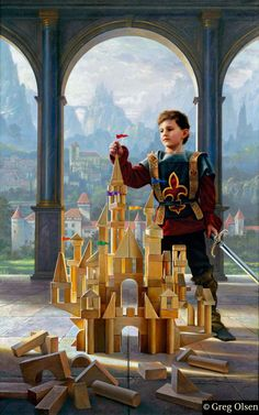 Heir to the Kingdom, Greg Olsen