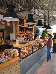 Ladenbau von Pawolka Ladenkonzepte und Einrichtungen. Bäckerei Grünewald, Filiale Stromberg.