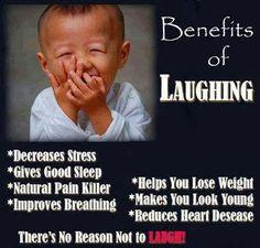 Just laugh!