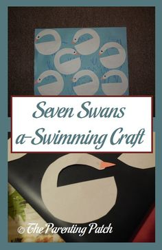 Seven Swans a-Swimming Craft
