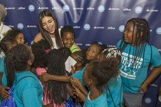 Victoria Justice - JetBlue's Soar with Reading Launch Event on June 27