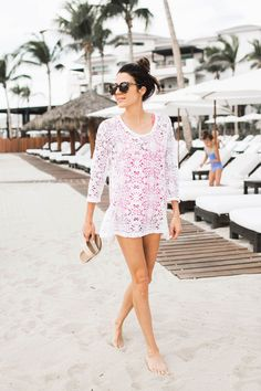 How to Style Your Bathing Suit - The Everygirl