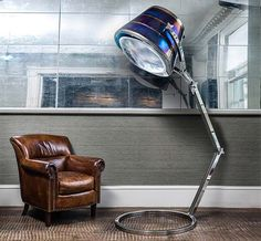 Relive your glory days of aviation with a BAE Aircraft Exhaust Lamp, made from a real aircraft part. As in, before it was a lamp, this was the exhaust from a BAE 146.