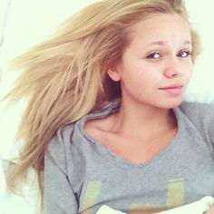 Alli Simpson in the morning... She's still beautiful!!!