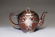 Art Nouveau Teapot (c.1900) by Lenox, Inc., American