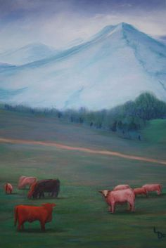 Pastoral   Oil Painting   If interested, email me @ lamerledeca@gmail.com