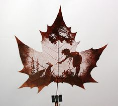 Funny pictures about Amazing Leaf Art. Oh, and cool pics about Amazing Leaf Art. Also, Amazing Leaf Art photos. Art Et Nature, Nature Crafts, Tattoo Schwarz, Blog Art, Inspiration Art, Leaf Art, Art Plastique, Oeuvre D'art, Autumn Leaves