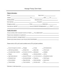 59 Best Massage Intake Forms for any Client - Printable Templates Good Massage, Massage Room, Printable Templates, Printables, Massage Intake Forms, Massage Therapy Business Cards, Reiki, Medical, Printable Stencils