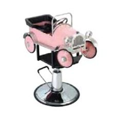 Wholesale Salon Equipment - Kiddy Pink Car Styling Chair