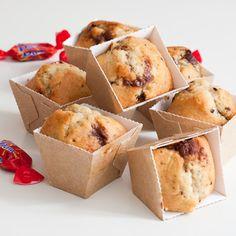 Muffins aux bananes et aux Daims®