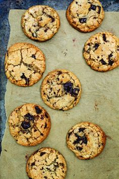 Basic, great chocolate chip cookies - no mixer required