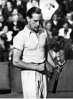 Gottfried von Cramm, Berlin, 1937 - The gentleman of Wimbledon.