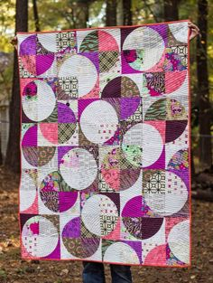 Sing All You Want: Drunkard's Path Quilt