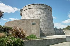 James Joyce Center  Joyce spent 6 days at the Martello Tower in Sandycove in 1904 – astay that ended in his companion Oliver St. John Gogarty firing a gun. This strange scene is immortalized in the first chapter of Joyce;s Ulysses and the tower now contains a museum dedicated to James Joyce....  http://celtictours.blogspot.com/2012/01/literary-attractions-in-ireland.html