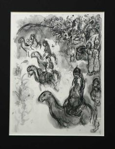 The Bible Scenes by Marc Chagall