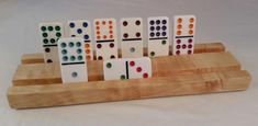 Domino Holder, mexican train domino, tile games, games and puzzles, slot domino holder, arthritis helper, domino holder rack, dice and tile