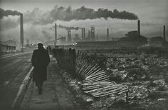 Don McCullin : Early Morning, West Hartlepool, County Durham. 1963