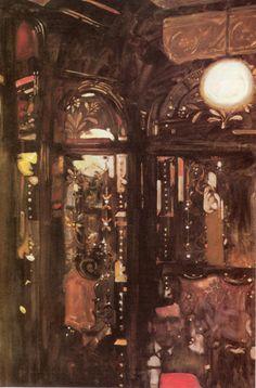BERNARD FUCHS (1932 - 2009)  London pubs series
