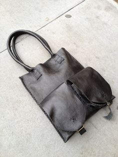 Hey, I found this really awesome Etsy listing at https://www.etsy.com/listing/127381648/black-tote-black-leather-tote-bag-slim