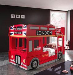 Lits superposés BUS LONDONIA, Lits superposés - HcommeHome