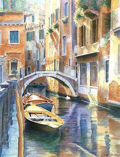 """""""Ponte dei Carmini, Castello, Venice"""" by Trevor Heath"""