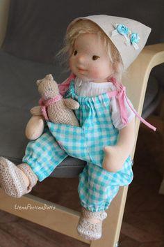 Waldorf doll 36 cm14.4 Waldorf baby Puppen Poupee