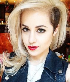 styling undercut hairstyle female - Google Search
