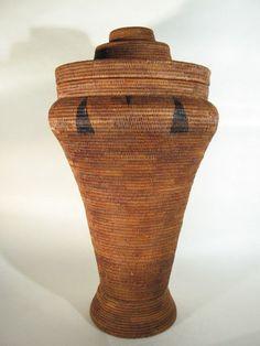 GothamGallery Fine African Art  - Zambia Lozi Large Tribal Basket