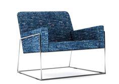 MODERN CHAIRS | Blue armchairs, Charles chair by Marcel Wanders. www.bocadolobo.com/ #inspirationideas #luxuryfurniture #interiordesign