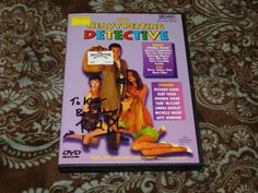 Heavy Petting Detective (DVD,1999) Rare OOP Passport Michelle Bauer T&A *SIGNED*