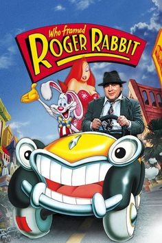 Best Film Posters : Who Framed Roger Rabbit movie poster  #poster #bestposter #fullhd #fullmovie