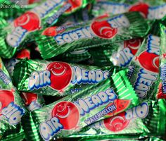 use Air Heads (in this case watermelon) to make candy infused vodka
