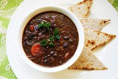 black bean soup - this was so good. Recommend buying black beans from the bulk section and making them instead of using canned.