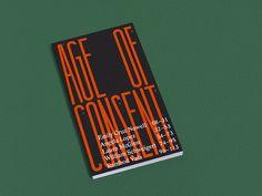 Age of Consent – book – 2015 - Marinus Schepen — Graphic Design