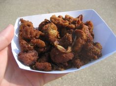 Deep Fried Lamb Testicles. Would you eat these?