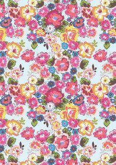 Flower pattern AW13 Bag collection - Rice.dk by Studio Sjoesjoe